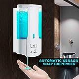 CHGDFQ Seifenspender Pumpe Automatischer Flüssigseifenspender Infrared Smart Sensor Touchless...