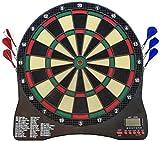 XQHD Elektronische Dartscheibe Mit LED-Anzeige 43 Spiele Und 28 Variationen Mit 6 Darts Leisure...