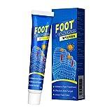 Usmato Fußcreme, Antimykotische Creme, Feuchtigkeitsspendende Fußsalbe, Anti-Trocknung, Fußgeruch...