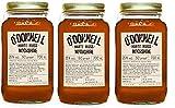 """3 Gläser O'Donnell Moonshine """"Harte Nuss"""" Likör (700 ml) I Made in Germany I Natürliche..."""