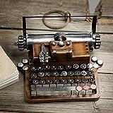 Ggoddess Schreibmaschine, Retro Metal Vintage Handicrafts, Antike Schreibmaschine, Deko...