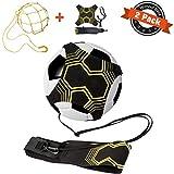 APERIL 2 Pack Fußball Trainer, Fußball/Soccer Trainer Zubehör, Einstellbar Fußballtraining...