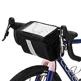 Explopur Fahrradlenker Isolierte Kühltasche Radfahren MTB Mountain Road Bike Vorderkorb Packtasche