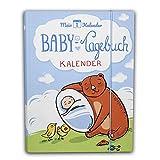 Mein 1. Kalender Baby Tagebuch Babyalbum mit Entwicklungsberater Babyratgeber Geschenk zur Geburt...