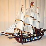 Tritow Kreative Caribbean Pirate Ship Blackbeard Series Building Blocks Kinder Spielzeug Spiele...