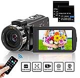 ZORNIK Camcorder, IR Night Vision Video Camera HD 1080P 36MP 16X Digital Zoom 3.0 Inch LCD 270...