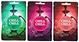 Chill Chill | Shisha Gum | Alle Sorten - Double Apple - Kiss 69 - Icy Watermelon | Zuckerfreier...