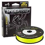 Spiderwire Dura-4 Flechtleine 300m Gelb 23lb/10,5 Kg 0.12mm