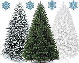 XONIC Künstlicher Weihnachtsbaum Tannenbaum 30,60,90,120, 150, 180,210 240cm Christbaum Baum GRÜN...