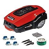 Einhell Mähroboter FREELEXO 500 m² Kit Power X-Change (Li-Ion, bis zu 500 m², Multizonen-Modus,...