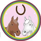 Tortenaufleger Pferd, Pferdetorte // Kuchendekoration Pferd // 20cm Durchmesser // 100% Essbar...