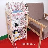 NINGWXQ Kinder Aufbewahrungsregal Kleidung Bcher Spielzeuglagereinheiten Kinderzimmer Multifunktion...