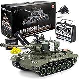 Goods & Gadgets Ferngesteuerter RC M26 Pershing 2.4GHz Panzer Snow Leopard Tiger 1:16;...
