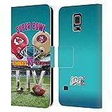 Head Case Designs Offizielle NFL Kansas City Chiefs vs San Francisco 49ers 2020 Super Bowl LIV...