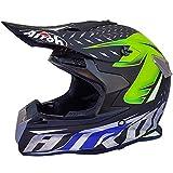 Jugend Kinder Motorrad Helm Motocross Gear Combo, Erwachsenen Motorrad Helm, Integral Helm für MTB...