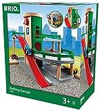 BRIO World 33204 Parkhaus, Straßen & Schienen – Eisenbahnzubehör für die BRIO Holzeisenbahn –...