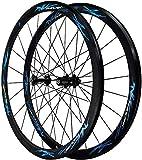GAOTTINGSD Fahrradfelge Rennrad Räder 700C 40MM Fahrradachse Alu-Felgen Ultra Double Wall V...