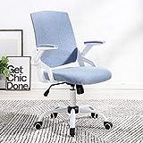 Laifeng ZIMO TO-329 Drehstuhl für Kinder, Computerstuhl, Bürostuhl, Rosa blau