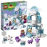 LEGO 10899 DUPLO Princess Frozen Elsas Eispalast, Bauset mit einem Leuchtstein, Prinzessin ELSA und...