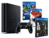 Playstation 4 Konsole PS4 Slim 1Tb MEGAPACK 5 Spiele! The Last Of Us + Uncharted Collection (3 im 1)...