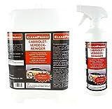 CleanPrince Verdeckreiniger 2,5 Liter Cabriolet Verdeck Reiniger Cabriodach Cabrioverdeck...