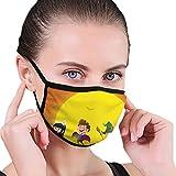 Gruppe von Kindern im Halloween-Kostm in der Vektormaske Unisex verstellbare Staubmaske Custom...