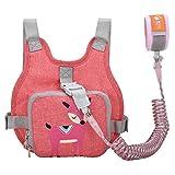 Kinder Sicherheitsleine, Kinder Leine Handgelenk, Anti-verloren Grtel Handgelenk Rucksack (Rosa)