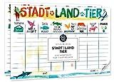 Baqu Hamburg Stadt Land Musik Urlaub Fussball Tier AHOI Browortquiz Spielblock Quiz Spiel (Tier)