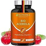 ACEROLA BIO Lutschtabletten | Natürliches Vitamin C Hochdosiert 1000mg | Reines Pulver...