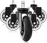 Rollerblade Style Gummi Ersatz Räder, Bürostuhl Caster Wheels für Ihren Schreibtisch Stuhl,...