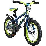 BIKESTAR Kinderfahrrad 16 Zoll für Mädchen und Jungen ab 4-5 Jahre | 16er Kinderrad Mountainbike |...