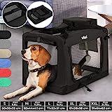 Hundebox - aus Stoff, S bis XXL, Faltbar, Tragbar, Abwaschbar, Größenwahl, Farbwahl -...