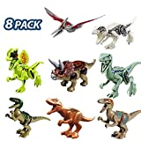 ISKM Dinosaurier Baustein Spielzeug Puzzle Figuren Klein Dino Kinder Dinosaurier Kindergeburtstag...