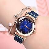 shangwang Damen-Armbanduhr mit Farbverlauf-Zifferblatt, Mailand, luxuriös, modisch, Damenuhr,...