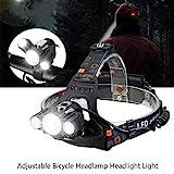 Wiederaufladbare 10000LM 3 X T6 + 2R5 LED Einstellbare Fahrrad Scheinwerfer Zoombare wasserdichte...