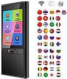 QKa Smart Language Translator Gert, Hand Interpreter elektronische Taschen-bersetzer Stimme/Text...