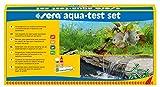 sera 04000 aqua-test set, Test Set fürs Aquarium & den Teich mit den 4 wichtigsten Wassertest pH,...