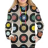 Melinda Perrodin CD Sweatshirt fr Damen, mit Kapuze, Sweatshirt L
