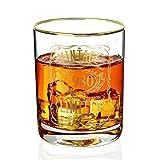 Whiskeyglas für Herren zum 40. Geburtstag, 1980, Vintage-Jubiläum für Ihn, Ehemann, Vater,...