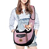 UniM Transporttasche für Hunde und Katzen, für kleine Welpen, Schultertasche, Reisetasche,...