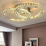 LED Deckenlampe Dimmbar Kreative K9 Kristall Deckenleuchte Restaurant Lampe Warm Romantische...