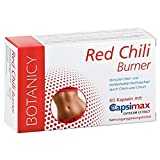 FATBURNER RED CHILI BURNER mit Capsimax, einfach abnehmen mit Capsaicin aus roter Chili, schnell...