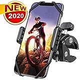 Handyhalterung Fahrrad, DesertWest Universal 360° Drehung Motorrad Handyhalterung für iPhone SE...