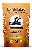 koawach Orange fruchtige Trinkschokolade mit Guarana - Bio, vegan und fair gehandelt (500g)
