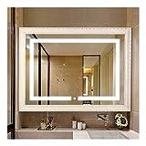 VONLUXE Beleuchtete LED Badezimmerspiegel mit Licht Vanity-Licht-Sensor-Touch-Schalter...