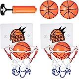 7 Stücke Mini Basketball Korb Set Enthält 2 Stücke Mini Basketball Korb Set mit 4 Stücke Bällen...