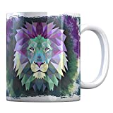 Tassenbude Kaffee Tasse mit Löwe Design für Tierliebhaber Zoo Geschenk-Idee
