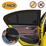 WEARXI Sonnenschutz Auto Baby mit UV Schutz - 2 Stck Auto Sonnenschutz Autofenster Seitenfenster...