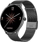 Vollkreis-Touchscreen, Farbbildschirm, Smartwatch für Damen und Herren, Sport-Smart-Armband,...