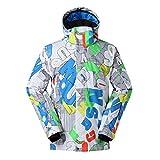 Gyubay Winter Warmer Skianzug wasserdichte Ski-Jacke Wintermantel Winddichtes Regen-Jacke for...